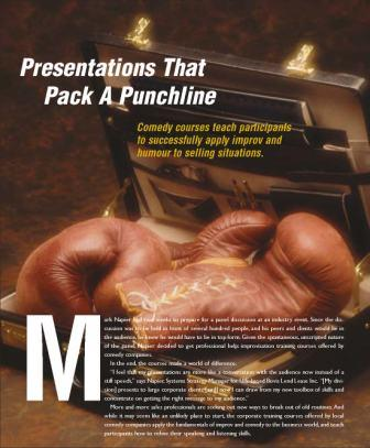 Presentations Pack a Punchline Cover